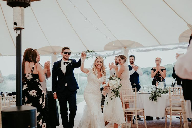 Sperry Tent For A Glamorous Wedding At Port Eliot Estate // Image By Olivia Whitbread Roberts Fine Art Photography