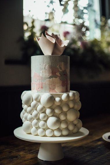 Incredible Wedding Cake at Summer City London Reception