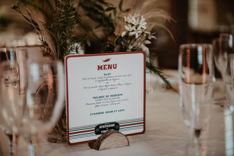 Wedding stationery and table signs