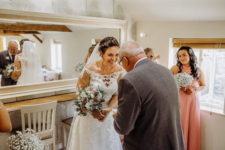 Bridal preparations at Caswell House