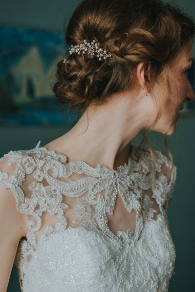 Bride wears Maggie Sottero Dress // Images by Remain In Light