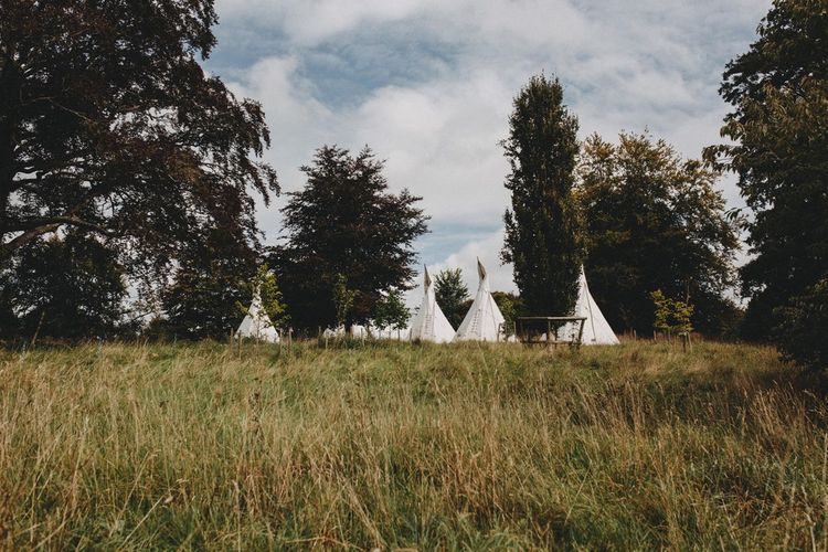Glamping For Wedding Guests At Pennard House