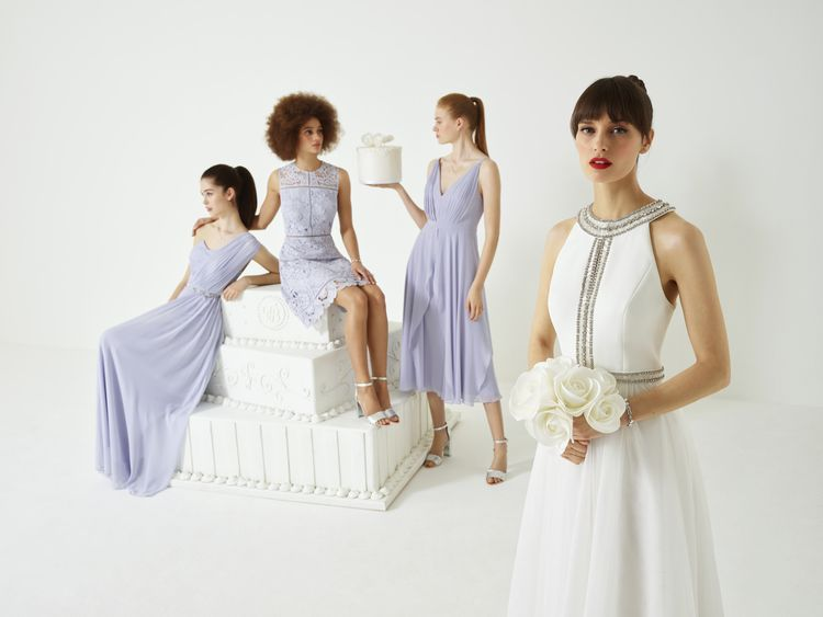 Bridal Party Fashion from the new Ted Baker SS19 Tie the Knot collection.