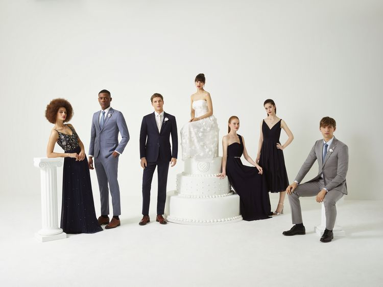 Wedding Party Fashion from the new Ted Baker SS19 Tie the Knot collection.