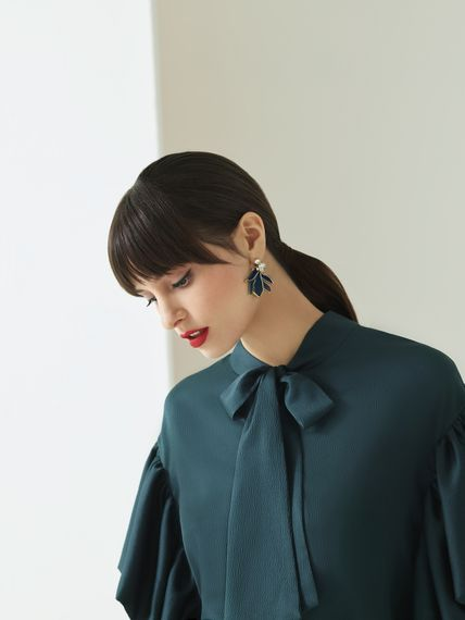 Matching Teal Earrings from the new Ted Baker SS19 Tie the Knot collection.