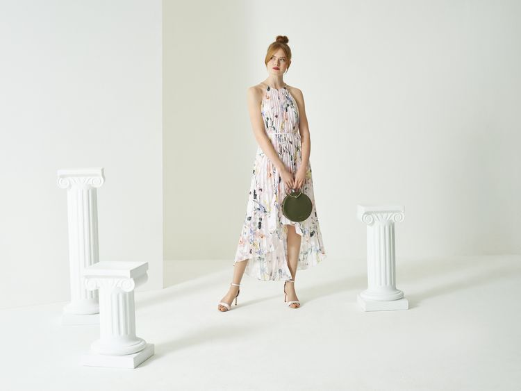 Floral Wedding Guest Dress & Bag from the new Ted Baker SS19 Tie the Knot collection.