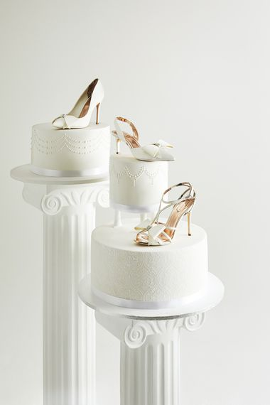 Ivory Wedding Shoes from the new Ted Baker SS19 Tie the Knot collection.