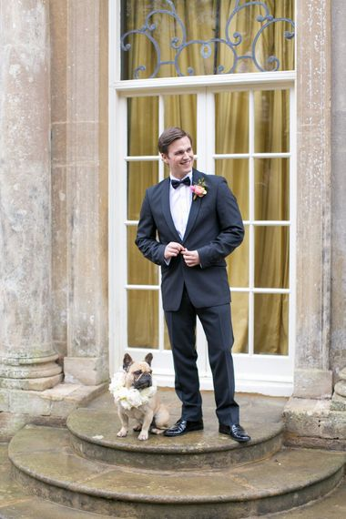 Groom in Black Tie | Spring Equinox at Thorpe Manor Wedding Venue by Revival Rooms | Anneli Marinovich Photography