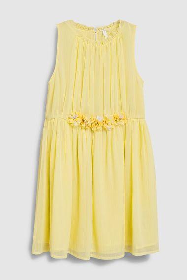 Next Flower Girl Yellow Dress
