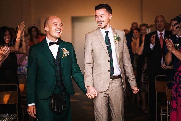 Same-sex London wedding