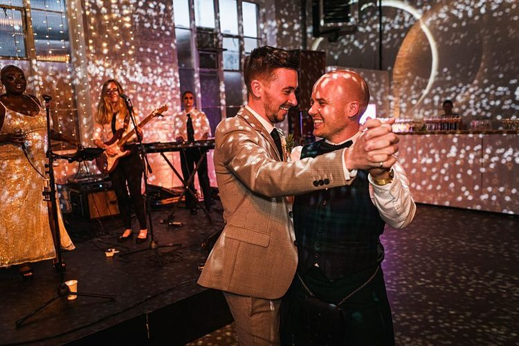 First dance for grooms