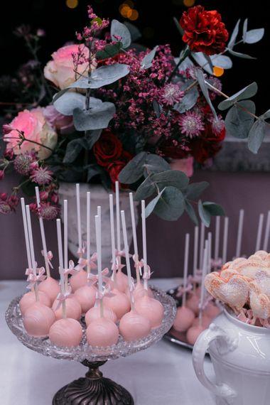 Dessert Station | Elegant Blush Pink & White Destination Wedding at Hotel La Palma, Stresa Italy, Planned by Princess Wedding | Berni Photography