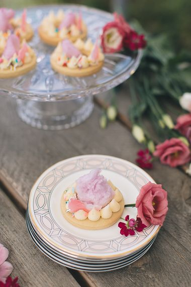 Candy Floss Iced Biscuits By Cottonwood Bakery