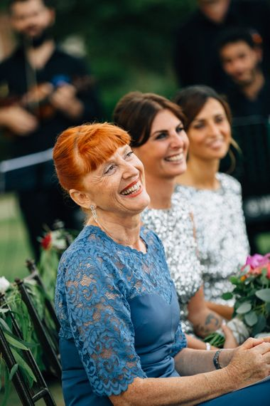 Guests | Colourful, Sophisticated,  Outdoor Wedding at Is Morus Relais in Southern Sardinia, Italy |  Greg Funnell Photography