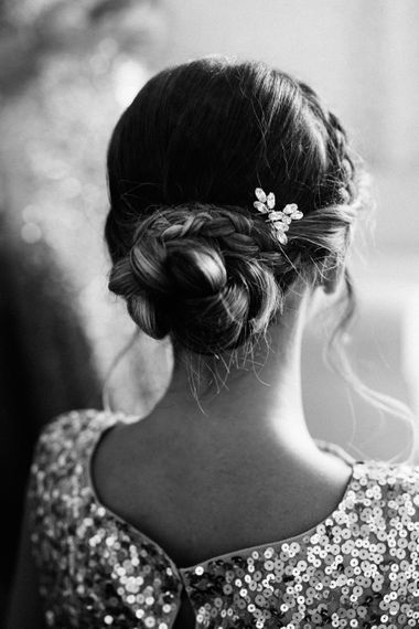 Braided Bun Bridesmaids Up Do | Colourful, Sophisticated,  Outdoor Wedding at Is Morus Relais in Southern Sardinia, Italy |  Greg Funnell Photography