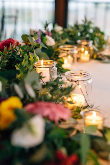 Floral Garland Wedding Flowers | Colourful, Sophisticated,  Outdoor Wedding at Is Morus Relais in Southern Sardinia, Italy |  Greg Funnell Photography