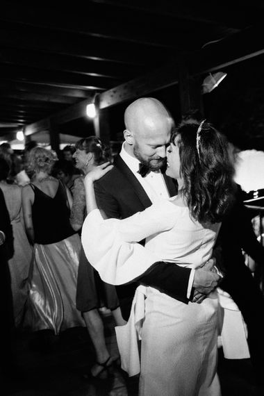 First Dance | Bride in Ellery Dress | Groom in YSL Black Tie Suit | Colourful, Sophisticated,  Outdoor Wedding at Is Morus Relais in Southern Sardinia, Italy |  Greg Funnell Photography