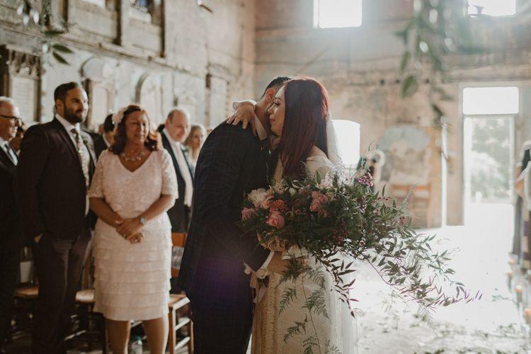 Asylum London Wedding Ceremony Venue // Ethical Wedding Dress By Minna Hepburn // Images By The Curries // Film By This Modern Revelry