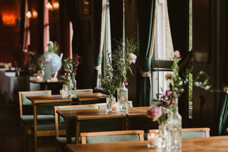 East Dulwich Tavern Wedding  // Ethical Wedding Dress By Minna Hepburn // Images By The Curries // Film By This Modern Revelry