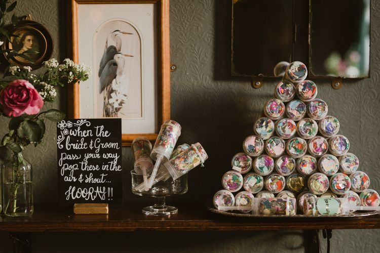 Confetti For Wedding // Images By The Curries