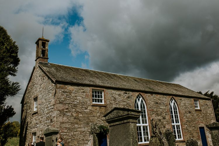 Village church for ceremony in Scotland