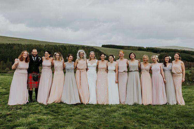 Motee maid mismatched bridesmaid dresses