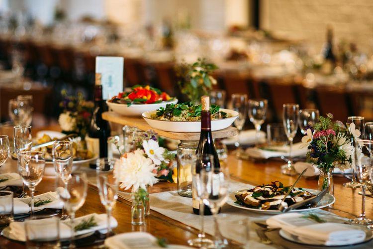 Wedding Catering | Belle & Bunty Wedding Dress for an Islington Town Hall & Brixton East City Wedding | Joanna Bongard Photography