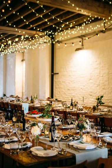 Wedding Reception Wedding Decor | Belle & Bunty Wedding Dress for an Islington Town Hall & Brixton East City Wedding | Joanna Bongard Photography