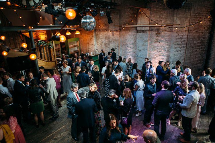 Wedding Reception | Belle & Bunty Wedding Dress for an Islington Town Hall & Brixton East City Wedding | Joanna Bongard Photography