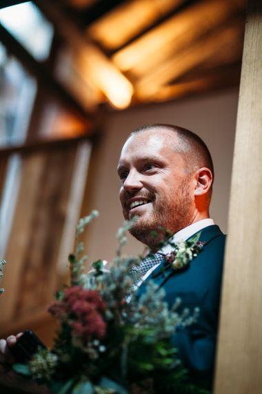 Groom in Paul Smith Suit | Wedding Reception Speeches | Belle & Bunty Wedding Dress for an Islington Town Hall & Brixton East City Wedding | Joanna Bongard Photography