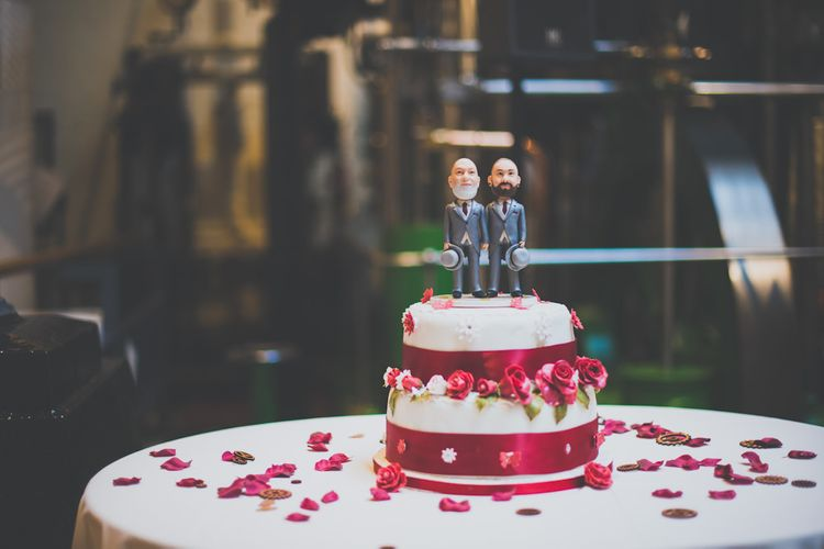 Personalised Same-Sex Couple Wedding Cake Topper