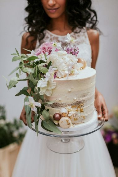 Semi Naked Cake by Sugar Plum Bakes