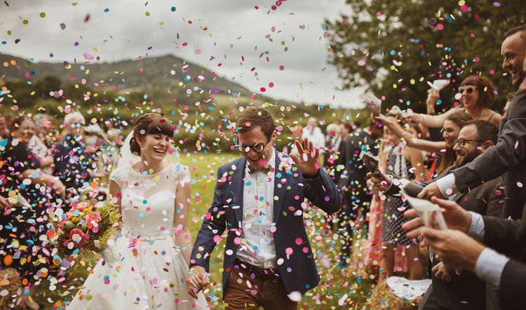 Colourful Confetti Photo by Neil Jackson Photography