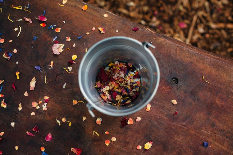 Dried Petal Confetti Bucket Image by Freckle Photography