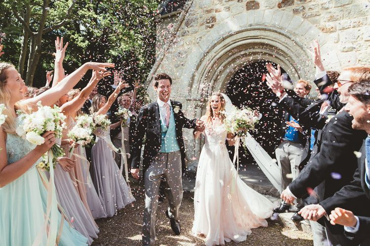 Confetti Exit Image by Maryanne Weddings