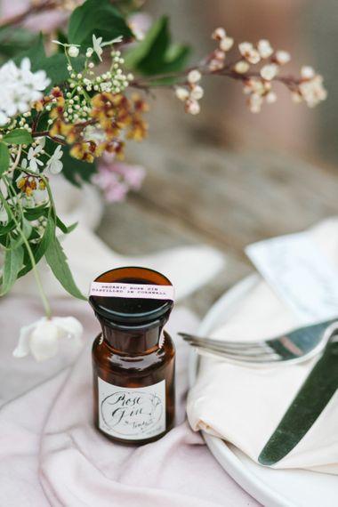 Miniature Tinkture Gin Wedding Favour