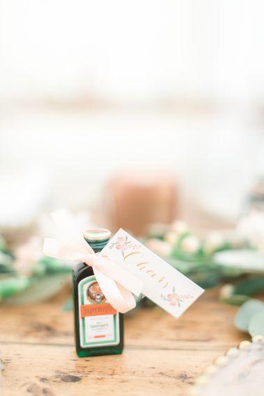 Miniature Jägermeister Wedding Favour