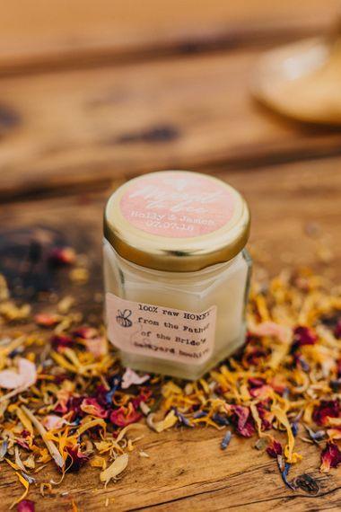 Pot of Honey Wedding Favour