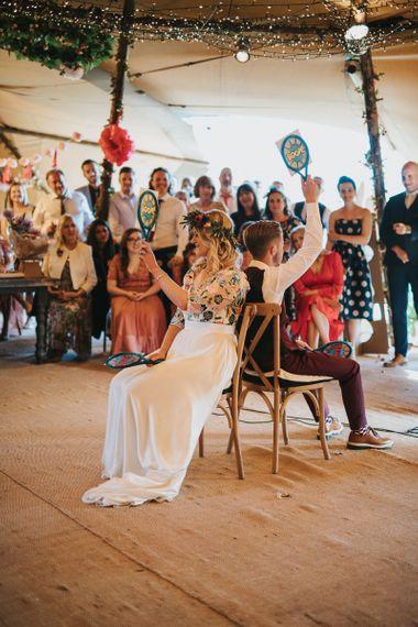 Mr & Mrs wedding game