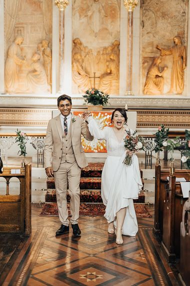 NHS Doctor and Nurse Marry Amid the Coronavirus Pandemic
