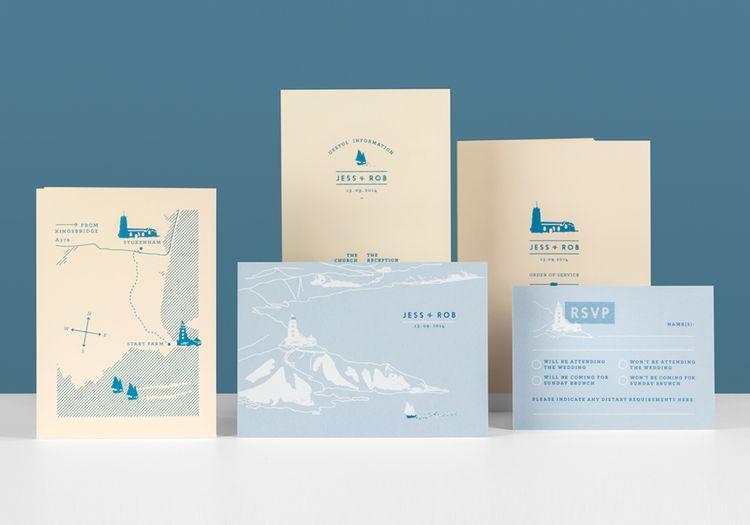 Pirrip Press Letterpress Wedding Stationery