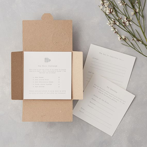 Letterpress Stationery From Wolf & Ink