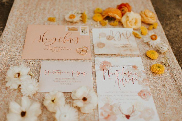 Wedding stationery suit