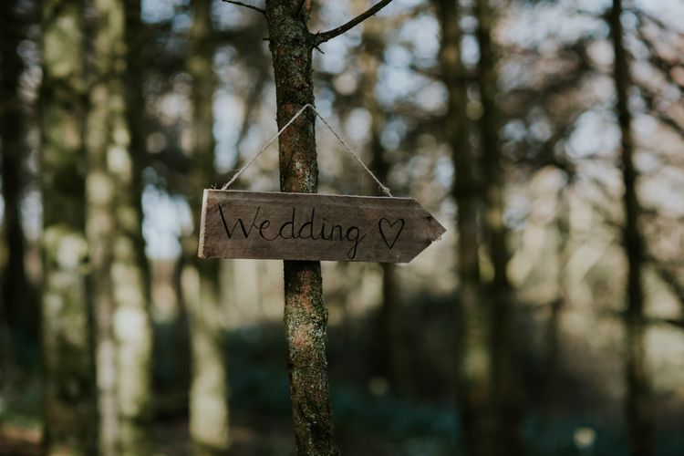 Woodland Wedding With A Botanical Greenhouse Reception // Potager Garden Cornwall // Bride In Backless Needle & Thread Dress // Image By Enchanted Brides Photography