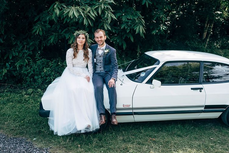 Classic Ford Wedding Car // Images By Dale Weeks Photography