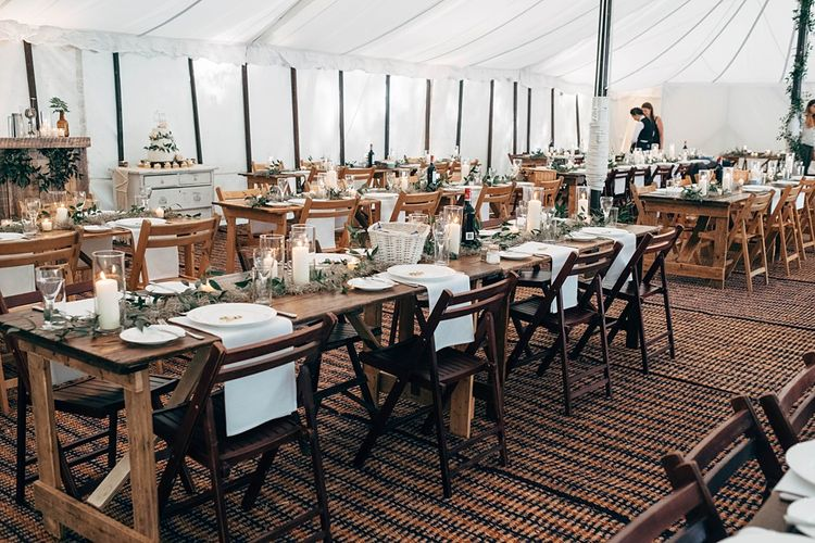 Marquee Wedding In The Woods // Images By Dale Weeks Photography