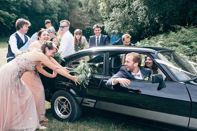 Classic Ford Car For Wedding //  Images By Dale Weeks Photography