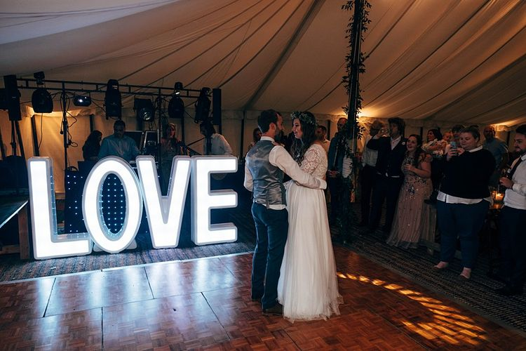 LOVE Letters For Wedding // Images By Dale Weeks Photography