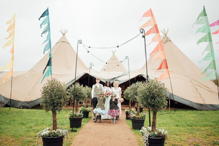 How To Style Your Tipi Wedding // Image By Liberty Pearl Photography