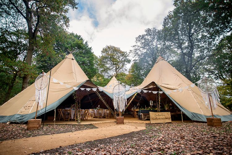 Where Can Tipis Be Pitched?  // Image By Karen Massey Photography